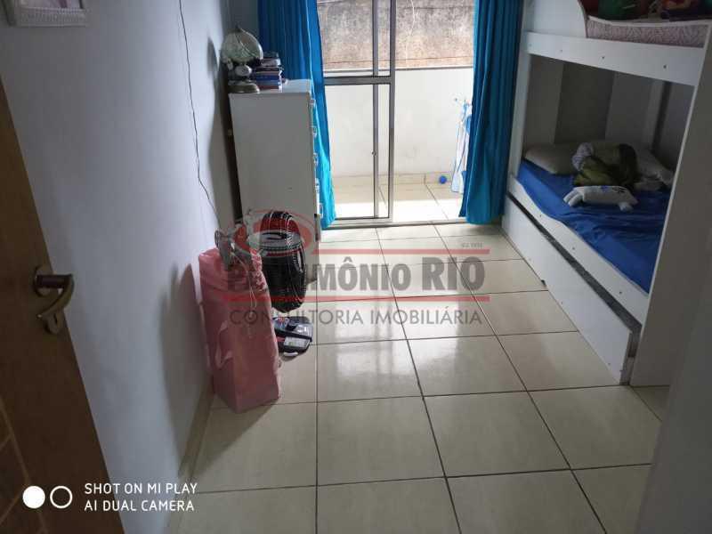 10. - Boa Casa Triplex, em condomínio fechado com varanda, 2quartos, suíte e terraço com churrasqueira - PACV20099 - 11