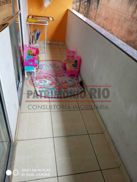 11. - Boa Casa Triplex, em condomínio fechado com varanda, 2quartos, suíte e terraço com churrasqueira - PACV20099 - 12