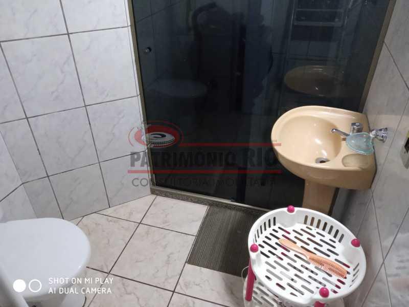 12. - Boa Casa Triplex, em condomínio fechado com varanda, 2quartos, suíte e terraço com churrasqueira - PACV20099 - 13