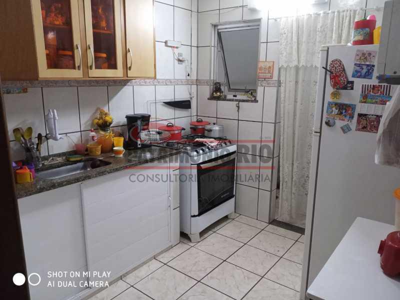 15. - Boa Casa Triplex, em condomínio fechado com varanda, 2quartos, suíte e terraço com churrasqueira - PACV20099 - 16