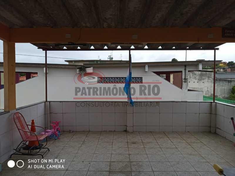 18. - Boa Casa Triplex, em condomínio fechado com varanda, 2quartos, suíte e terraço com churrasqueira - PACV20099 - 19