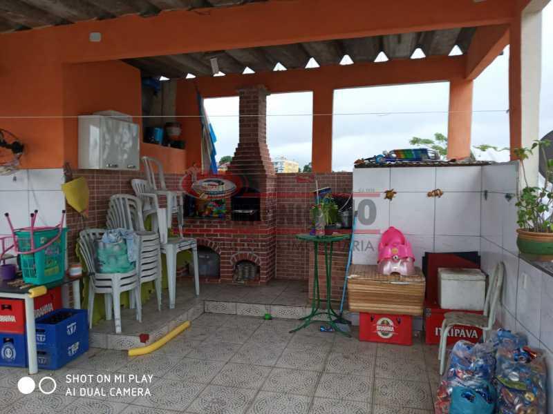 20. - Boa Casa Triplex, em condomínio fechado com varanda, 2quartos, suíte e terraço com churrasqueira - PACV20099 - 21