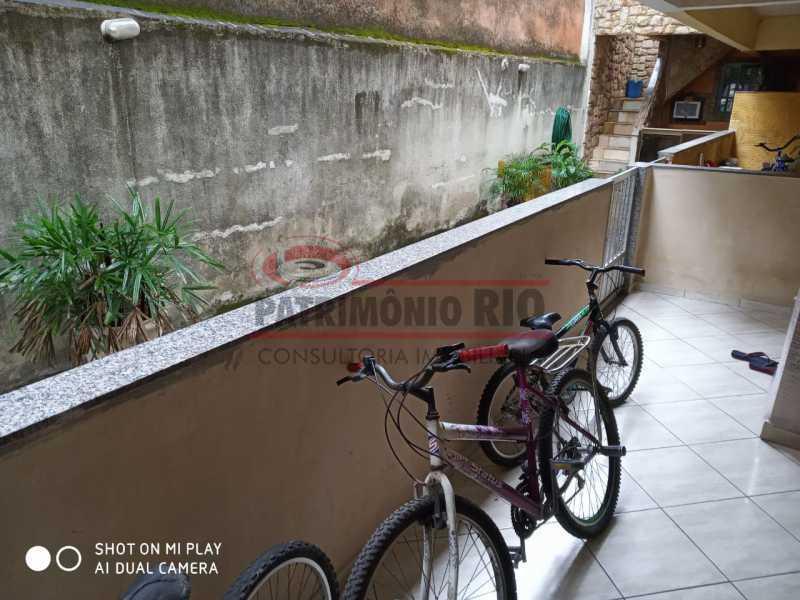 21. - Boa Casa Triplex, em condomínio fechado com varanda, 2quartos, suíte e terraço com churrasqueira - PACV20099 - 22