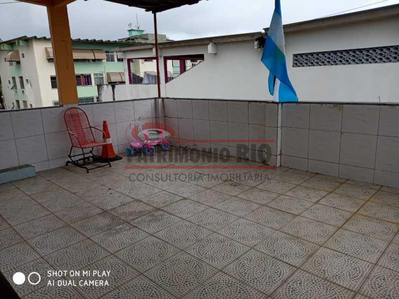 27. - Boa Casa Triplex, em condomínio fechado com varanda, 2quartos, suíte e terraço com churrasqueira - PACV20099 - 28