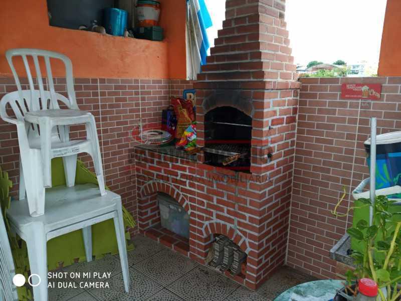 30. - Boa Casa Triplex, em condomínio fechado com varanda, 2quartos, suíte e terraço com churrasqueira - PACV20099 - 31