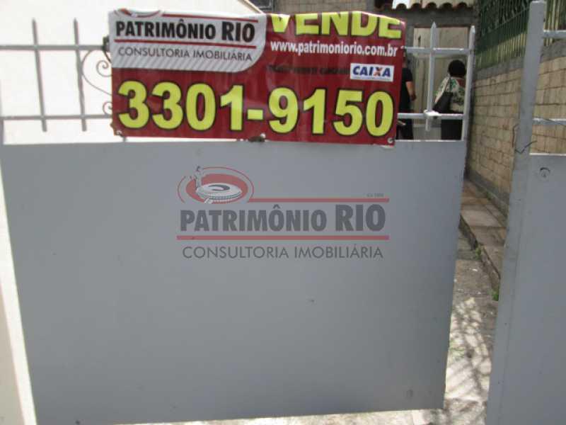 IMG_3110 - Ótima Casa de Fundos, em Condomínio fechado 2 quartoa, vaga de garagem - Iraja - PACA20552 - 4