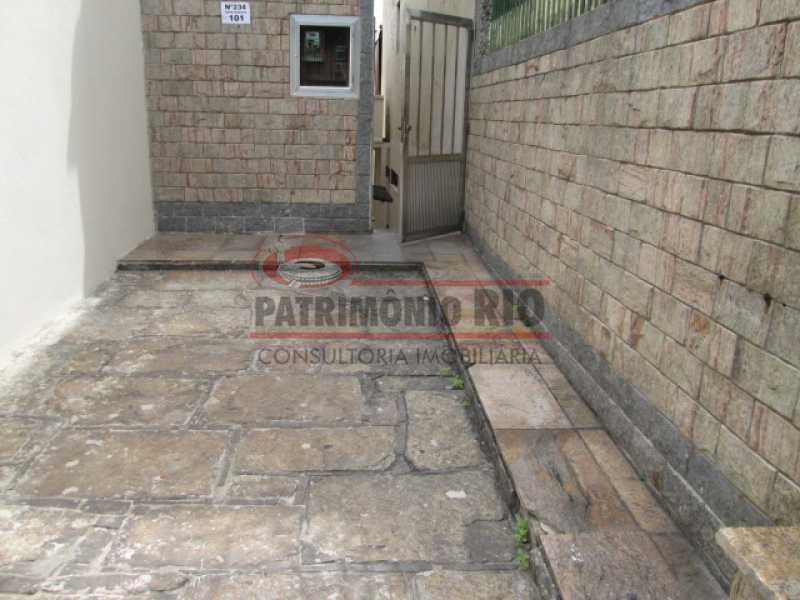 IMG_3112 - Ótima Casa de Fundos, em Condomínio fechado 2 quartoa, vaga de garagem - Iraja - PACA20552 - 1