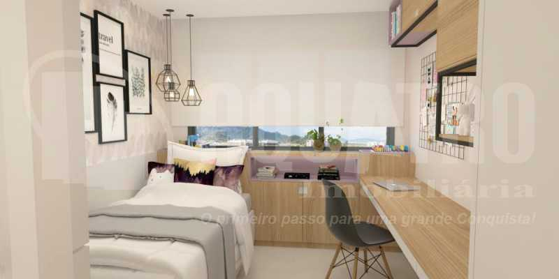 fotos-32 - Apartamento Recreio dos Bandeirantes, Rio de Janeiro, RJ À Venda, 2 Quartos, 80m² - PEAP20151 - 16