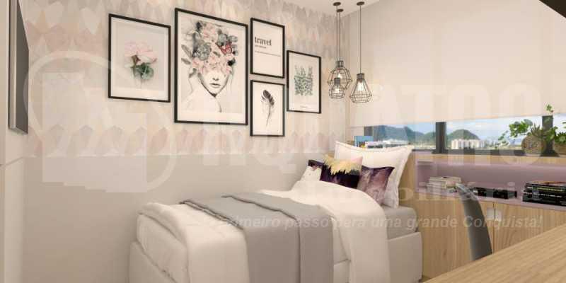fotos-33 - Apartamento Recreio dos Bandeirantes, Rio de Janeiro, RJ À Venda, 2 Quartos, 80m² - PEAP20151 - 17