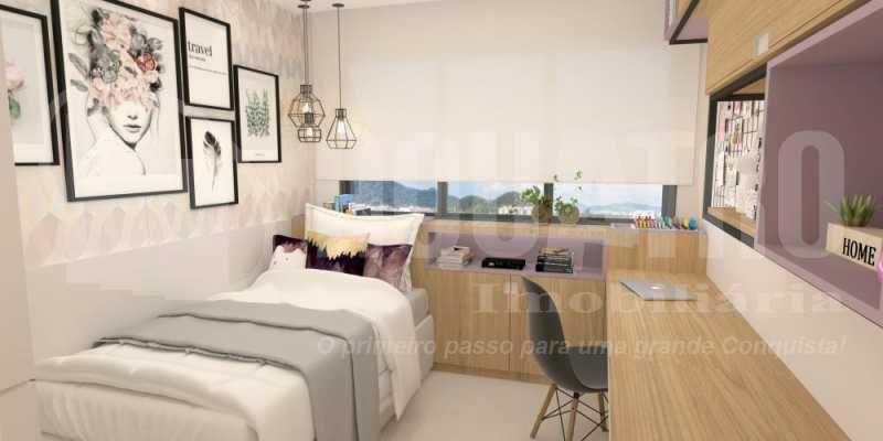 fotos-35 - Apartamento Recreio dos Bandeirantes, Rio de Janeiro, RJ À Venda, 2 Quartos, 80m² - PEAP20151 - 19