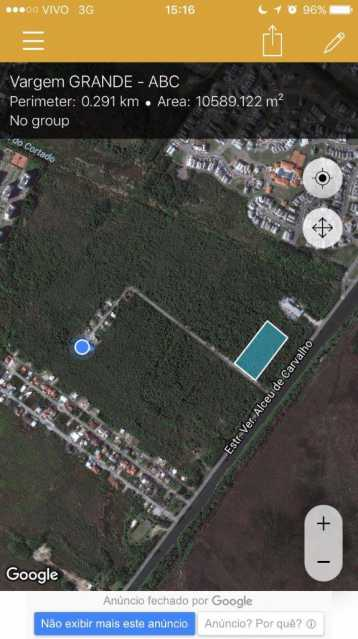 posição da área no google - Terreno 10045m² à venda Vargem Grande, Rio de Janeiro - R$ 7.000.000 - PEMF00010 - 10