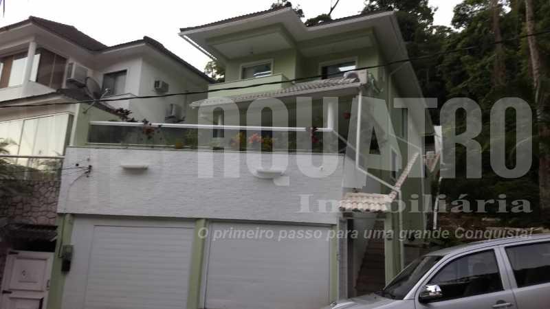 1. - Casa em Condomínio 6 quartos à venda Anil, Rio de Janeiro - R$ 1.100.000 - PECN60001 - 1