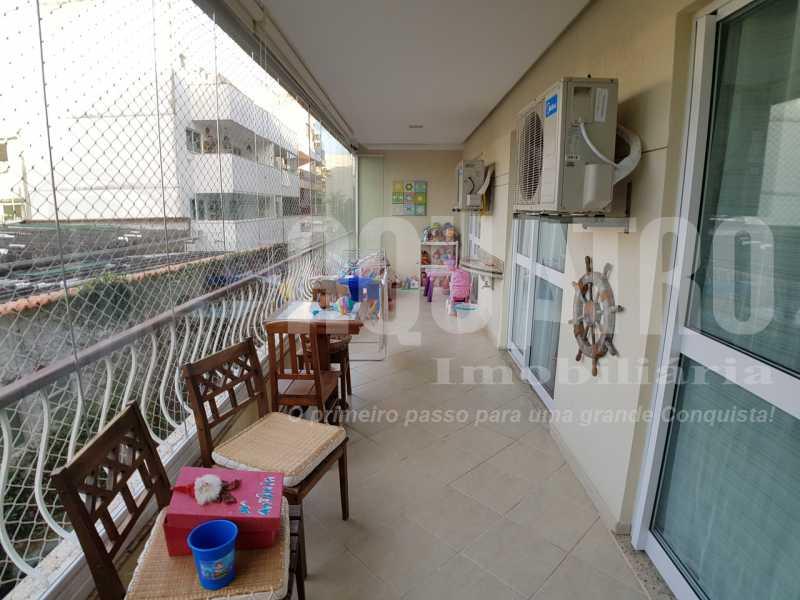 3. - Apartamento 3 quartos à venda Recreio dos Bandeirantes, Rio de Janeiro - R$ 524.000 - PEAP30048 - 4