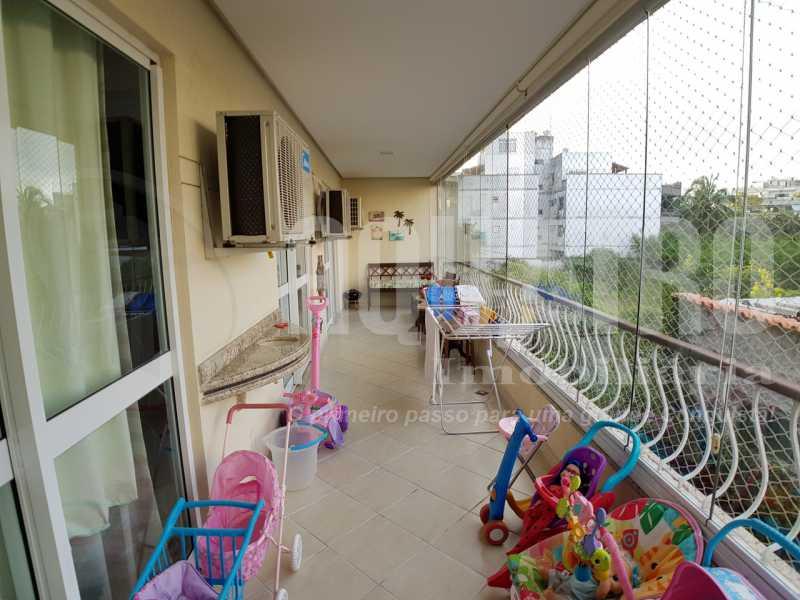 4. - Apartamento 3 quartos à venda Recreio dos Bandeirantes, Rio de Janeiro - R$ 524.000 - PEAP30048 - 5