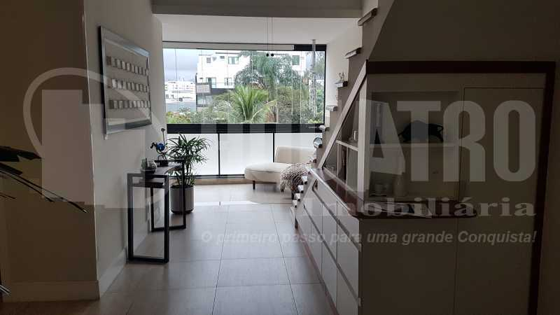 5 Sala 2 - Cobertura Recreio dos Bandeirantes,Rio de Janeiro,RJ À Venda,3 Quartos,192m² - PECO30008 - 5