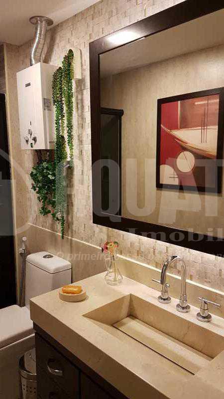 7 Banheiro social - Cobertura Recreio dos Bandeirantes,Rio de Janeiro,RJ À Venda,3 Quartos,192m² - PECO30008 - 8