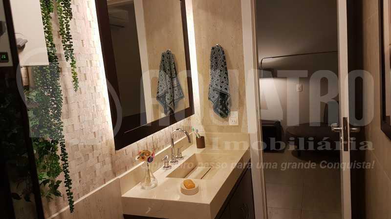 8 Banheiro social - Cobertura Recreio dos Bandeirantes,Rio de Janeiro,RJ À Venda,3 Quartos,192m² - PECO30008 - 9