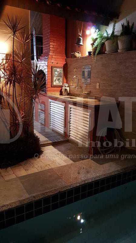 19 Churrasqueira e pia Terraç - Cobertura Recreio dos Bandeirantes,Rio de Janeiro,RJ À Venda,3 Quartos,192m² - PECO30008 - 21