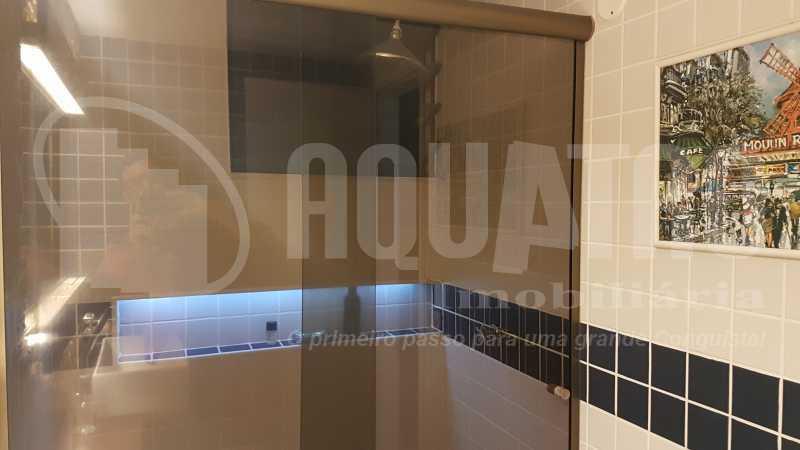 20 Banheiro da piscina - Cobertura Recreio dos Bandeirantes,Rio de Janeiro,RJ À Venda,3 Quartos,192m² - PECO30008 - 22