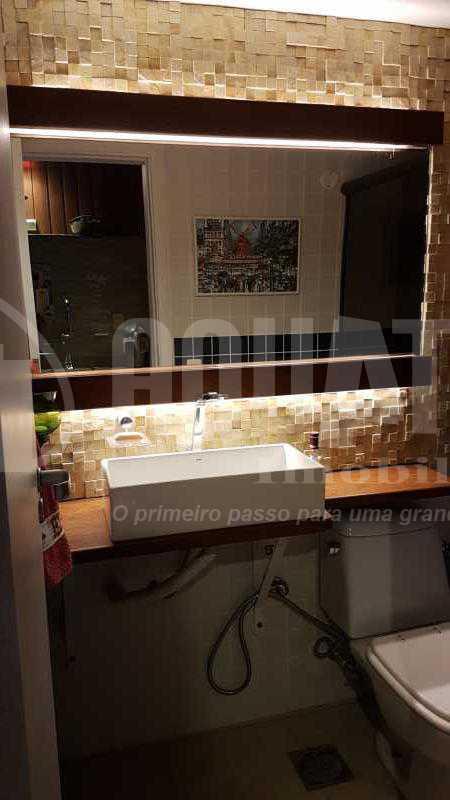 21 Banheiro da piscina - Cobertura Recreio dos Bandeirantes,Rio de Janeiro,RJ À Venda,3 Quartos,192m² - PECO30008 - 23