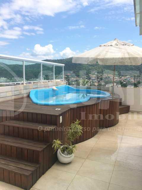 RG 6. - Casa em Condomínio 4 quartos à venda Taquara, Rio de Janeiro - R$ 900.000 - PECN40014 - 23