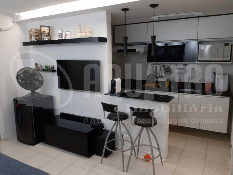 Sala 1 - Apartamento Jacarepaguá, Rio de Janeiro, RJ À Venda, 2 Quartos, 61m² - PEAP20273 - 3