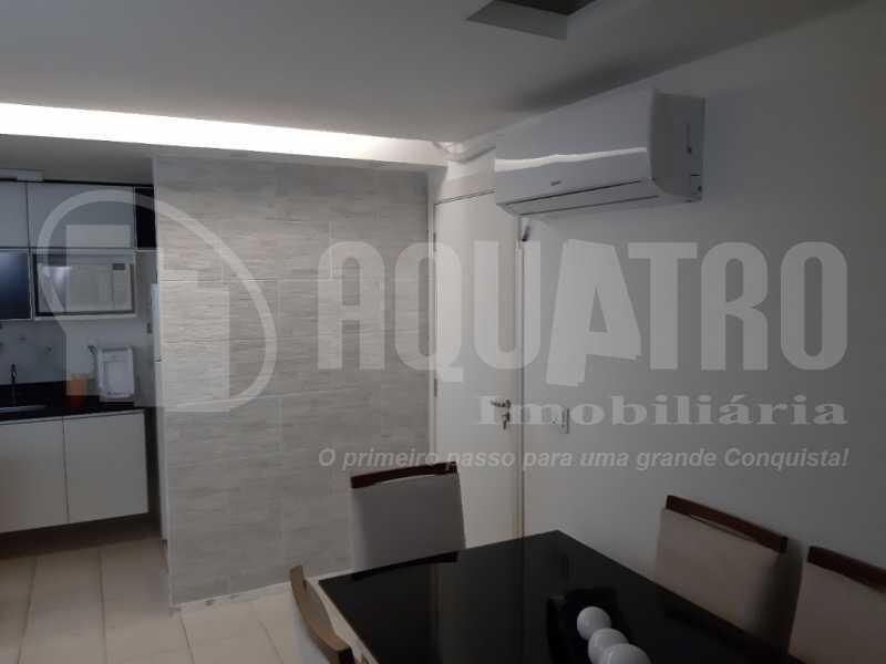 Sala 2 - Apartamento Jacarepaguá, Rio de Janeiro, RJ À Venda, 2 Quartos, 61m² - PEAP20273 - 4