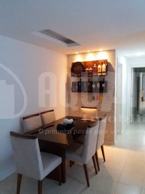 Sala 3 - Apartamento Jacarepaguá, Rio de Janeiro, RJ À Venda, 2 Quartos, 61m² - PEAP20273 - 5