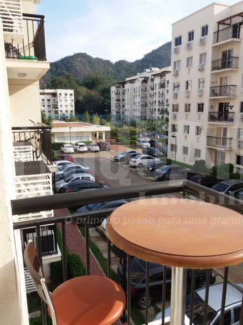 Varanda - Apartamento Jacarepaguá, Rio de Janeiro, RJ À Venda, 2 Quartos, 61m² - PEAP20273 - 1