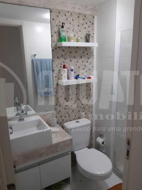 Banheiro Social - Apartamento Jacarepaguá, Rio de Janeiro, RJ À Venda, 2 Quartos, 61m² - PEAP20273 - 6