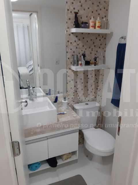 Banheiro Suíte 1 - Apartamento Jacarepaguá, Rio de Janeiro, RJ À Venda, 2 Quartos, 61m² - PEAP20273 - 7