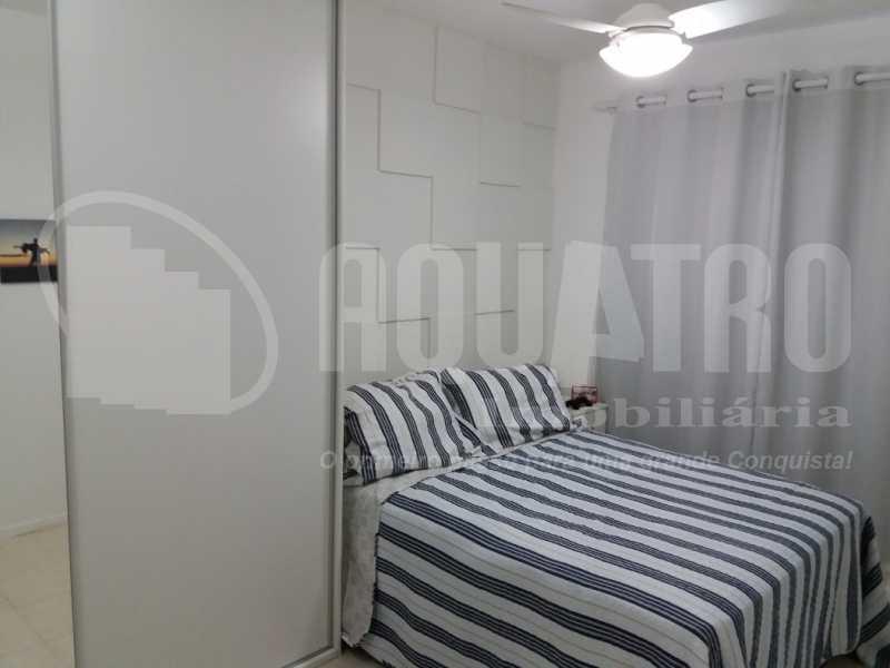 Quarto Suíte 1 - Apartamento Jacarepaguá, Rio de Janeiro, RJ À Venda, 2 Quartos, 61m² - PEAP20273 - 10