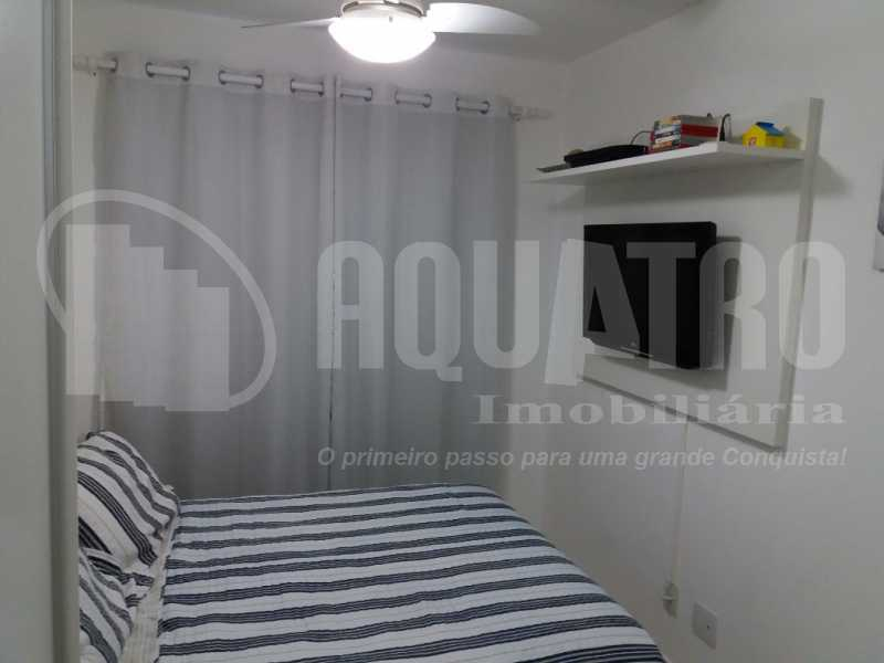 Quarto Suíte 2 - Apartamento Jacarepaguá, Rio de Janeiro, RJ À Venda, 2 Quartos, 61m² - PEAP20273 - 11