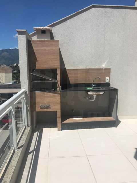 22. - Casa em Condomínio 3 quartos à venda Tanque, Rio de Janeiro - R$ 395.000 - PECN30044 - 27