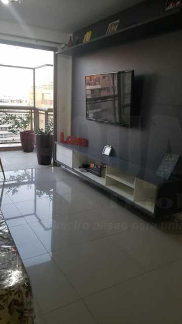 1. - Apartamento 2 quartos à venda Recreio dos Bandeirantes, Rio de Janeiro - R$ 590.000 - PEAP20366 - 1
