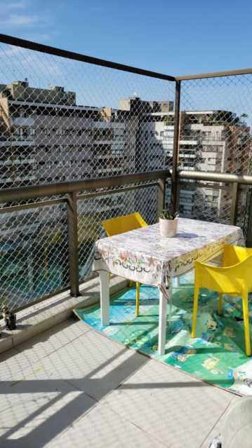 2a. - Apartamento 2 quartos à venda Recreio dos Bandeirantes, Rio de Janeiro - R$ 590.000 - PEAP20366 - 5