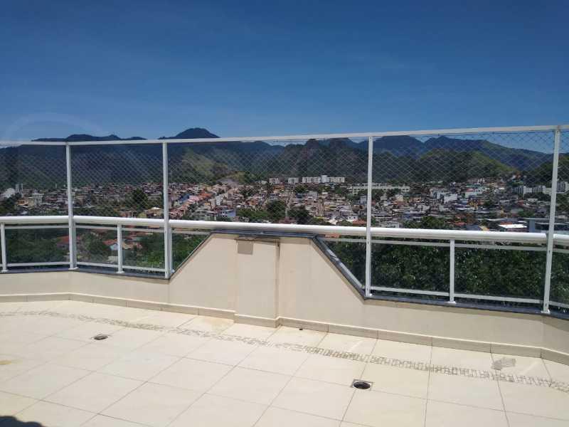 3. - Cobertura 3 quartos à venda Taquara, Rio de Janeiro - R$ 750.000 - PECO30012 - 4