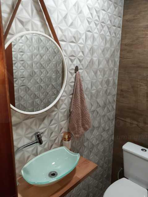 MN 16. - Casa em Condomínio 2 quartos à venda Taquara, Rio de Janeiro - R$ 320.000 - PECN20038 - 8