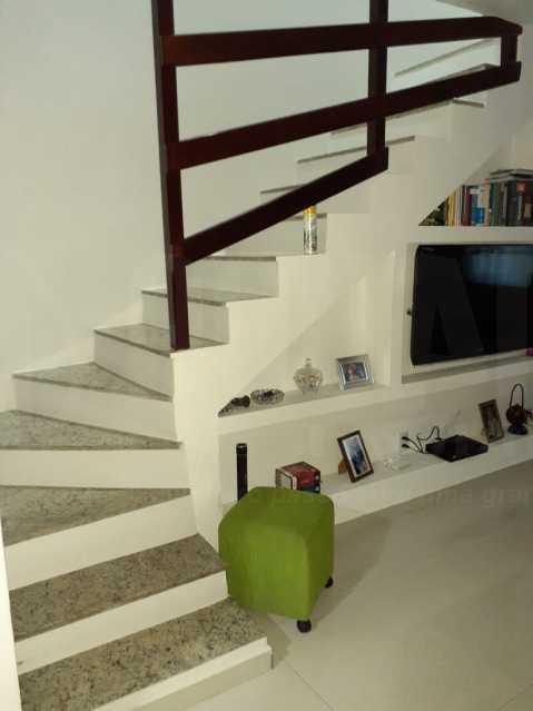 MN 22. - Casa em Condomínio 2 quartos à venda Taquara, Rio de Janeiro - R$ 320.000 - PECN20038 - 9