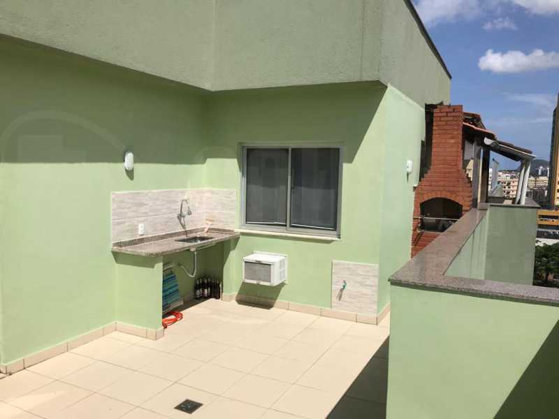 TERRAÇO - Cobertura 4 quartos à venda Taquara, Rio de Janeiro - R$ 440.000 - PECO40003 - 27
