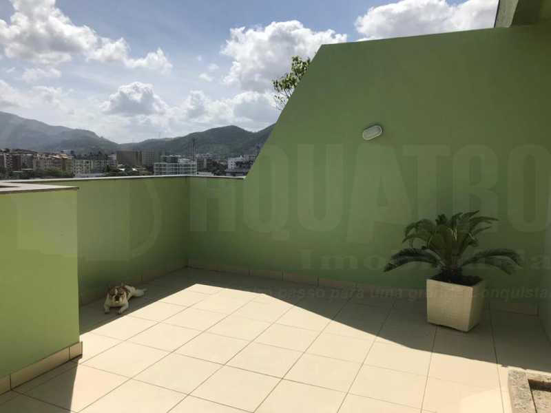 TERRAÇO - Cobertura 4 quartos à venda Taquara, Rio de Janeiro - R$ 440.000 - PECO40003 - 28