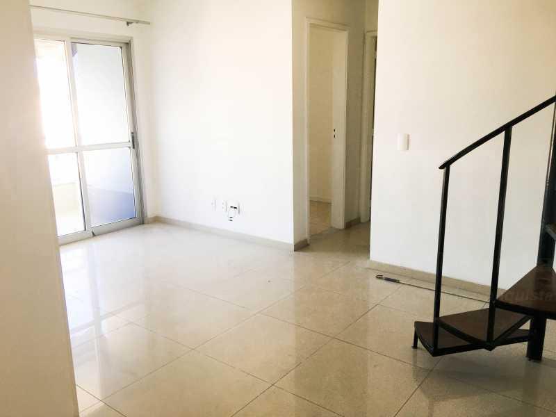 SALA - Cobertura 4 quartos à venda Taquara, Rio de Janeiro - R$ 440.000 - PECO40003 - 3