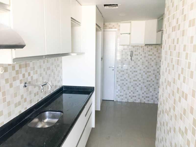 COZINHA - Cobertura 4 quartos à venda Taquara, Rio de Janeiro - R$ 440.000 - PECO40003 - 12