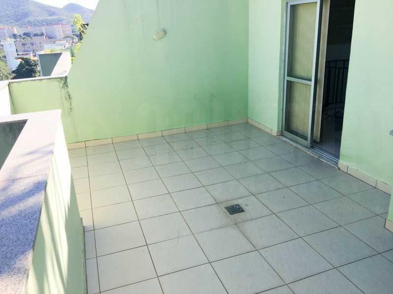 TERRAÇO - Cobertura 4 quartos à venda Taquara, Rio de Janeiro - R$ 440.000 - PECO40003 - 30