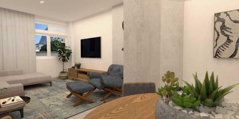 1 - Apartamento 2 quartos à venda Botafogo, Rio de Janeiro - R$ 790.000 - PEAP20417 - 1