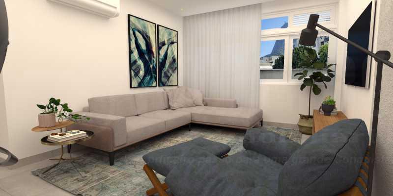2 - Apartamento 2 quartos à venda Botafogo, Rio de Janeiro - R$ 790.000 - PEAP20417 - 3