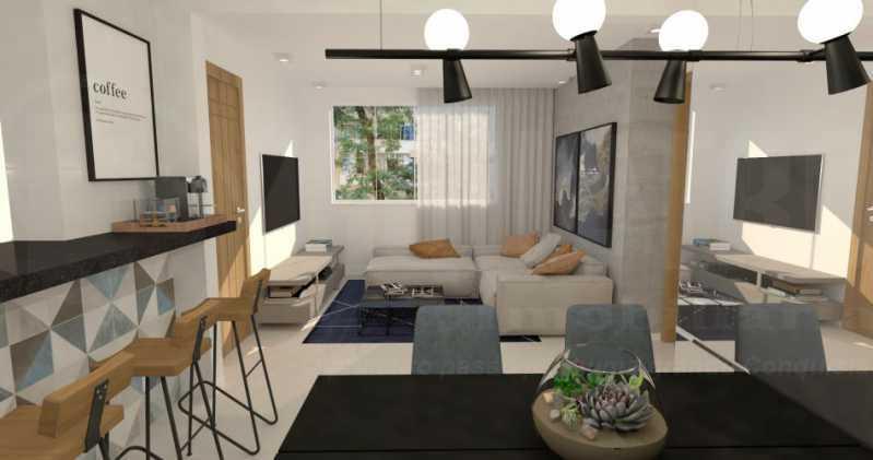 fotos-22 - Casa de Vila 5 quartos à venda Tijuca, Rio de Janeiro - R$ 1.150.000 - PECV50001 - 8