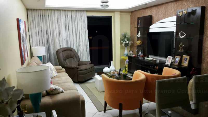 br 9. - Cobertura 5 quartos à venda Barra da Tijuca, Rio de Janeiro - R$ 2.000.000 - PECO50002 - 1