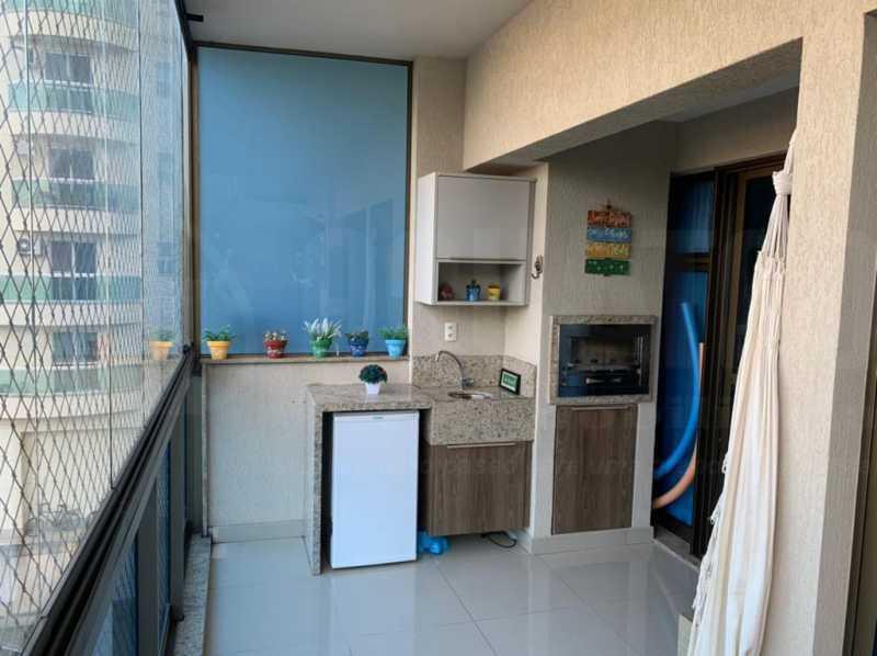 VARANDA 1. - Apartamento 3 quartos à venda Jacarepaguá, Rio de Janeiro - R$ 570.000 - PEAP30099 - 3
