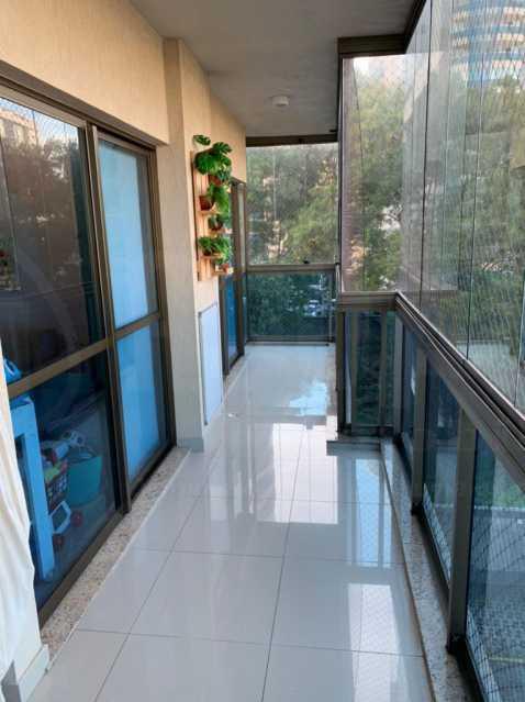 VARANDA. - Apartamento 3 quartos à venda Jacarepaguá, Rio de Janeiro - R$ 570.000 - PEAP30099 - 5